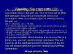 viewing file contents 2