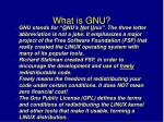 what is gnu