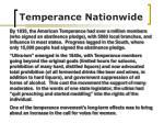 temperance nationwide