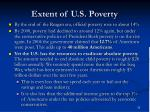 extent of u s poverty33