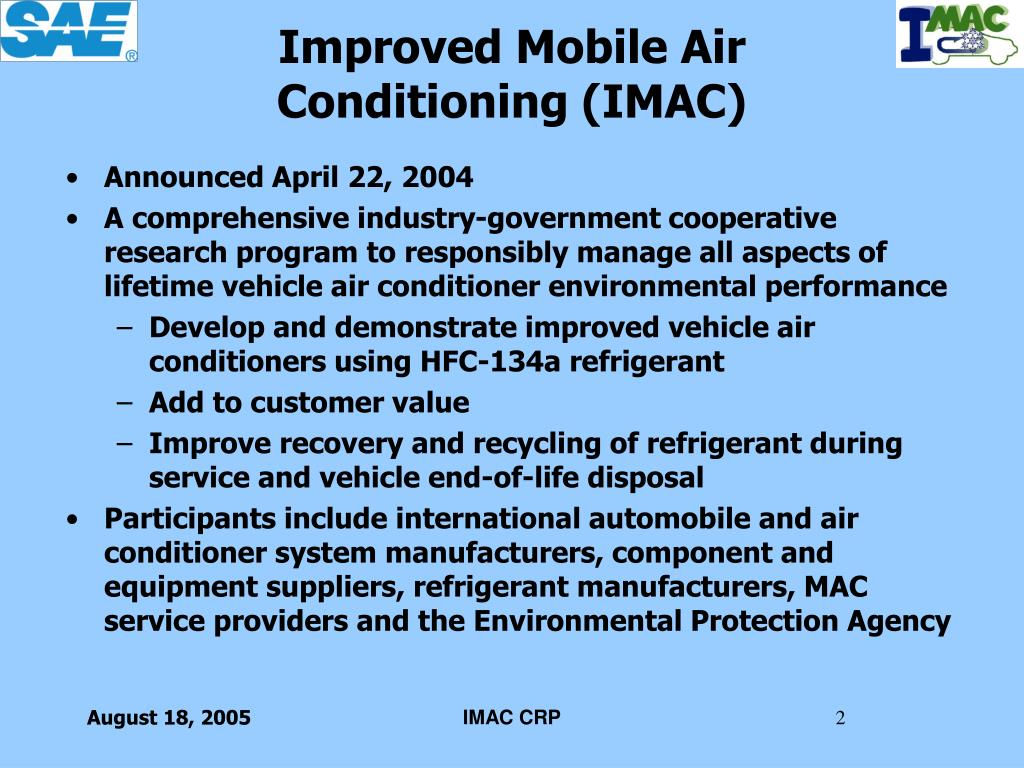 Improved Mobile Air