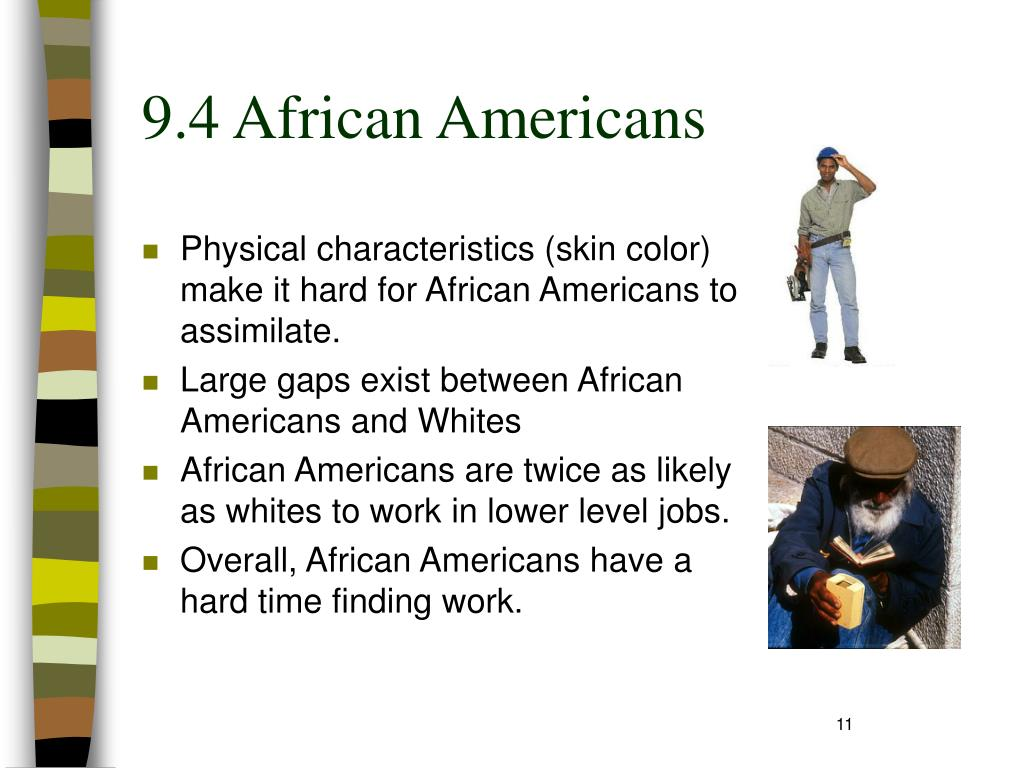 9.4 African Americans
