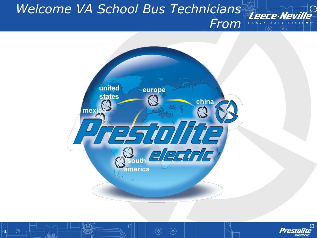 welcome va school bus technicians from l.