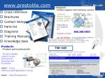 www prestolite com
