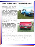 feature car chris penny s 73 pierre cardin javelin11