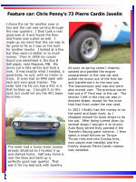 feature car chris penny s 73 pierre cardin javelin13