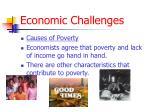 economic challenges14