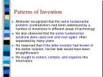 patterns of invention4
