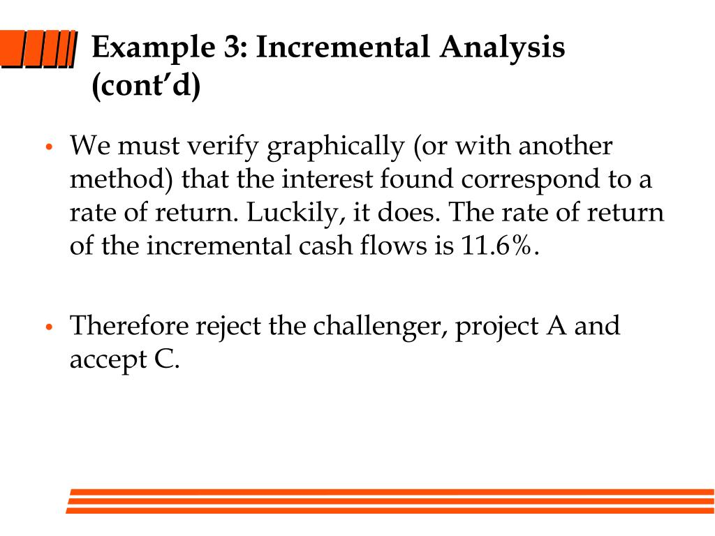 Example 3: Incremental Analysis (cont'd)