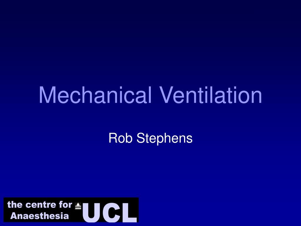 mechanical ventilation l.