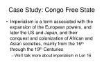 case study congo free state