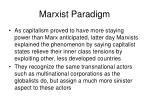 marxist paradigm16