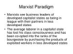 marxist paradigm17