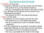 simultaneous gas exchange