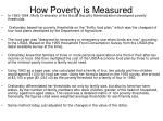 how poverty is measured