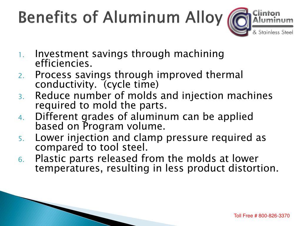 Benefits of Aluminum Alloy