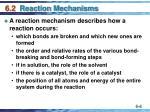 6 2 reaction mechanisms