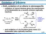 oxidation of 2 butene75