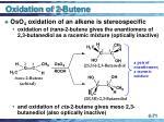oxidation of 2 butene71