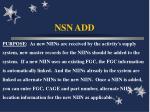 nsn add