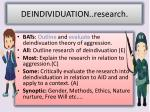 deindividuation research1