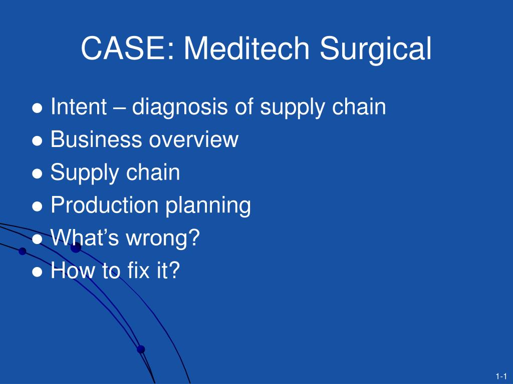 case meditech surgical l.