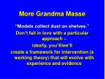 more grandma masse