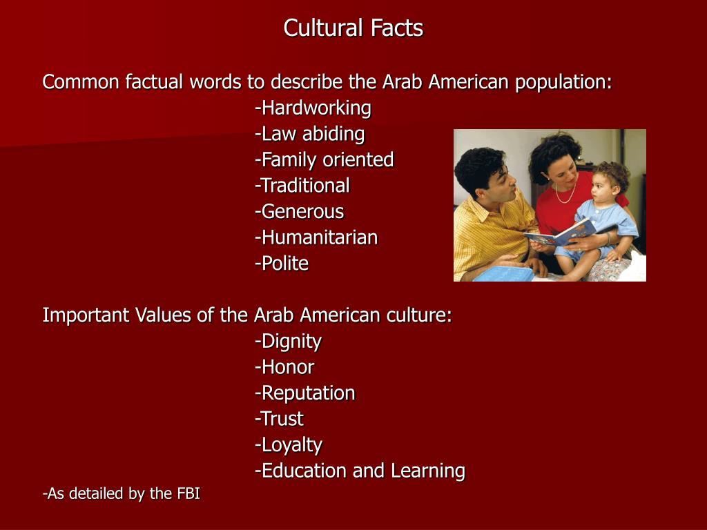 Cultural Facts