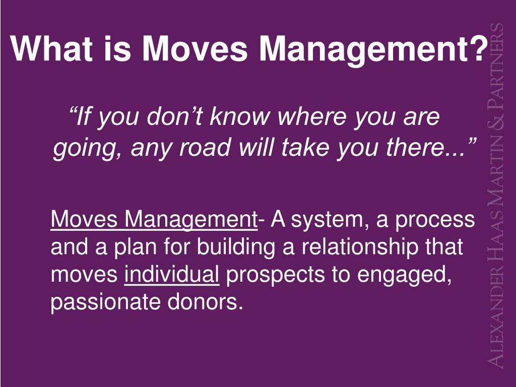 What is Moves Management?