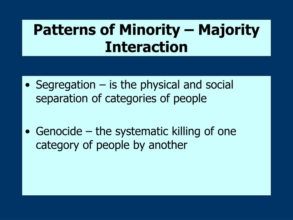 racial ethic inequality and symbolic interactionism