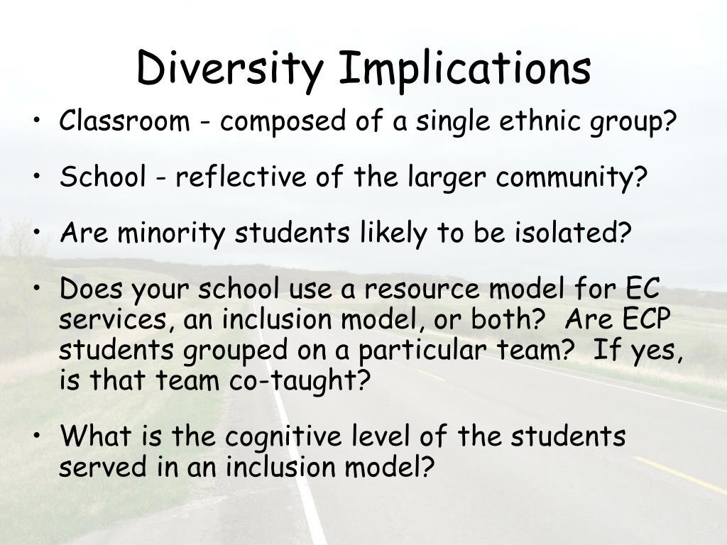 Diversity Implications