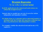 bivariate regression15