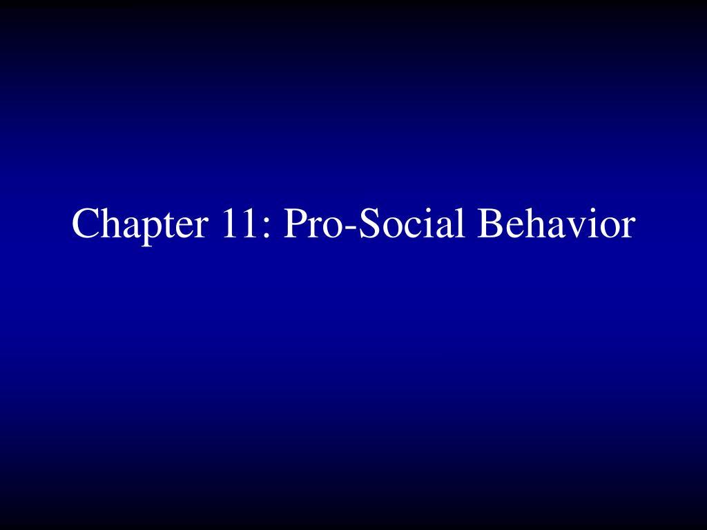 chapter 11 pro social behavior l.