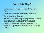 credibility gap123