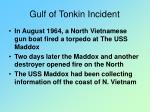gulf of tonkin incident