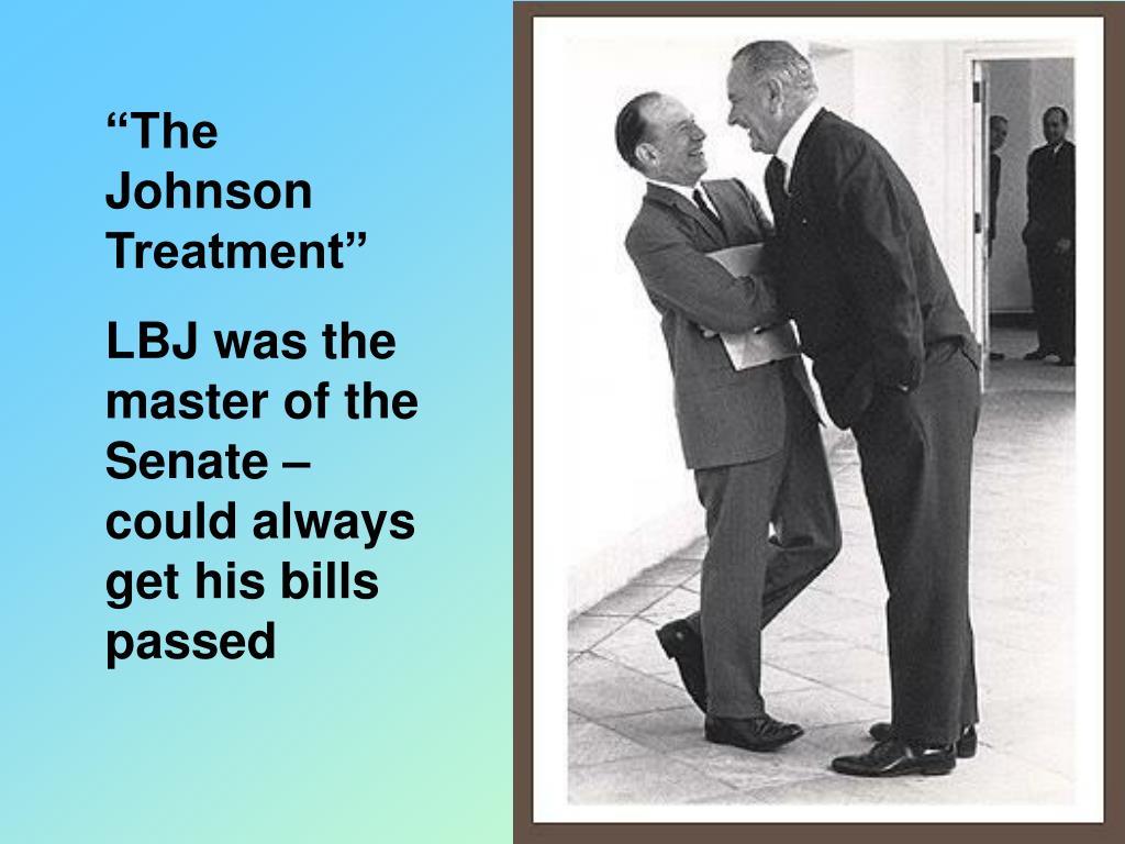 """The Johnson Treatment"""