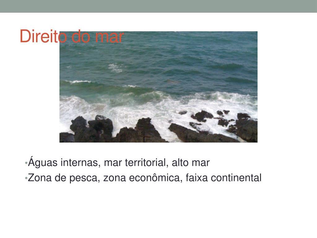 direito do mar l.