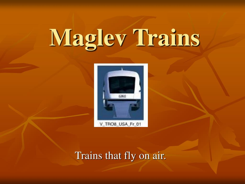 maglev trains l.