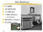 alto hardware
