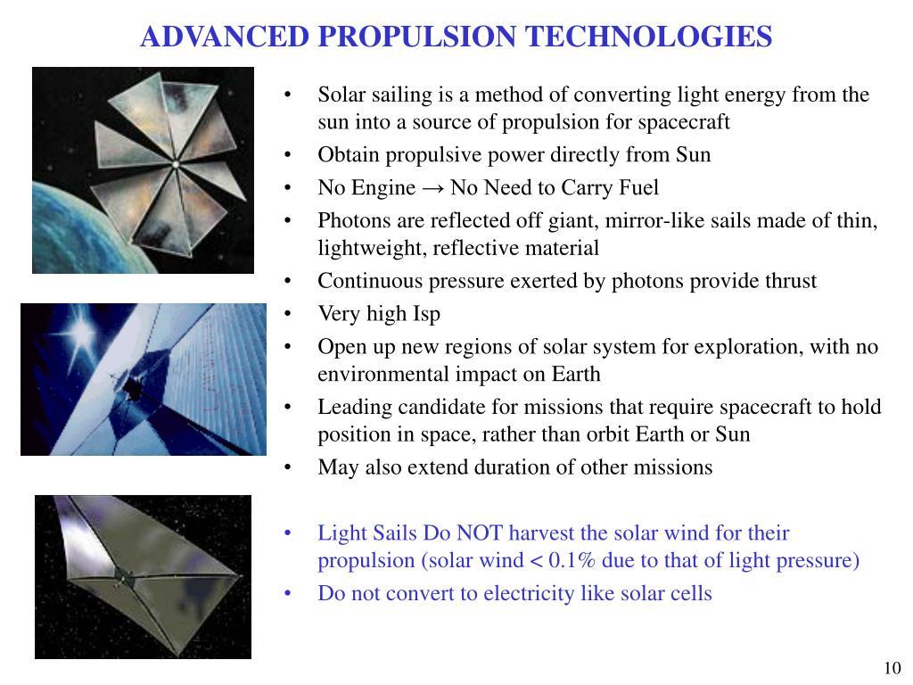ADVANCED PROPULSION TECHNOLOGIES