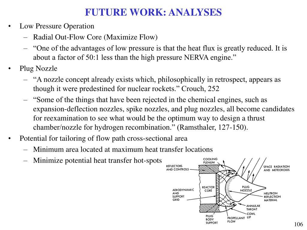 FUTURE WORK: ANALYSES