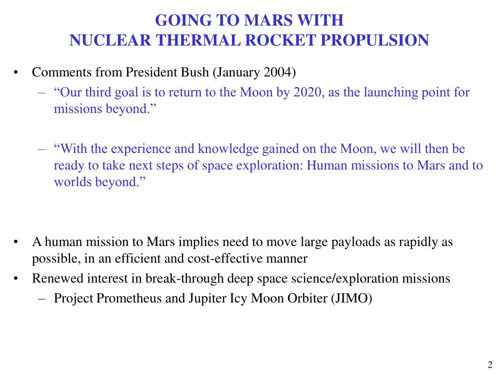 GOING TO MARS WITH