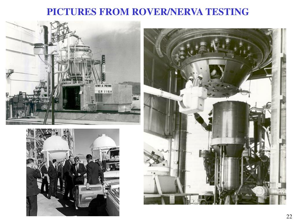PICTURES FROM ROVER/NERVA TESTING