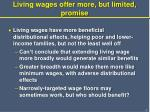 living wages offer more but limited promise