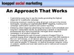 an approach that works24