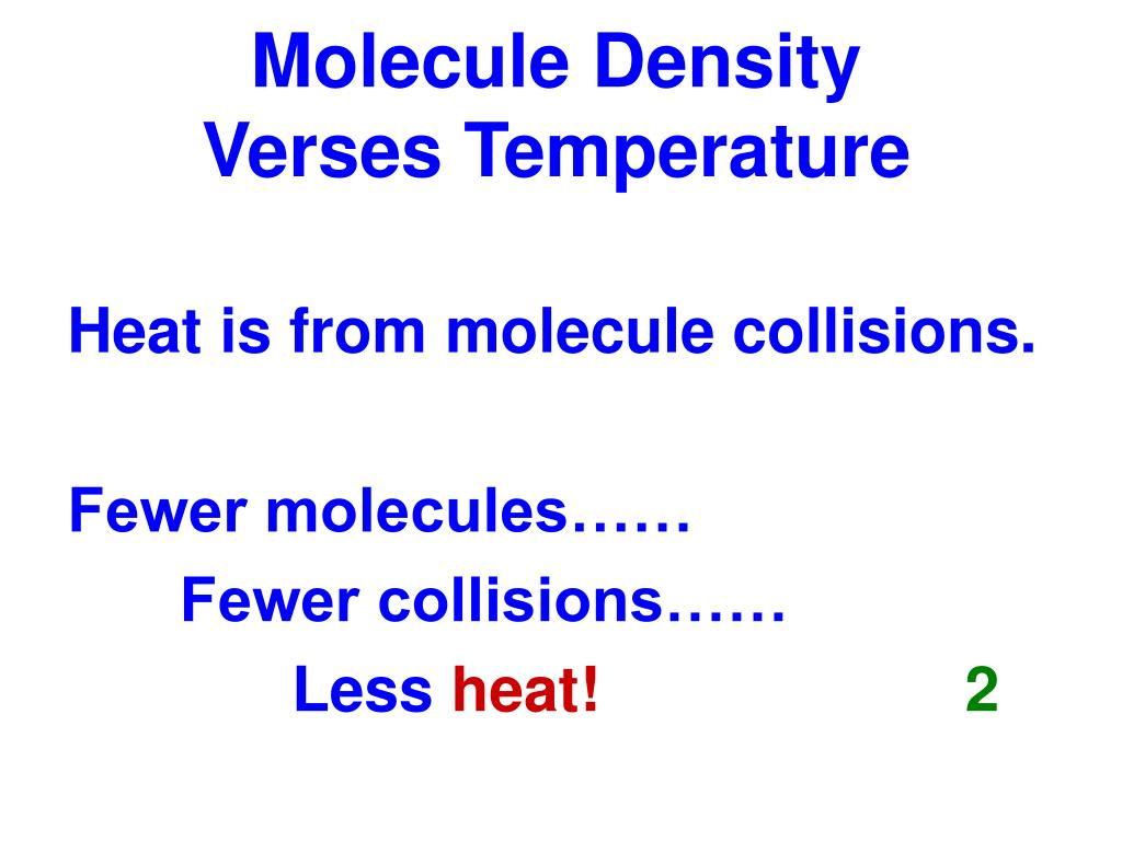 Molecule Density