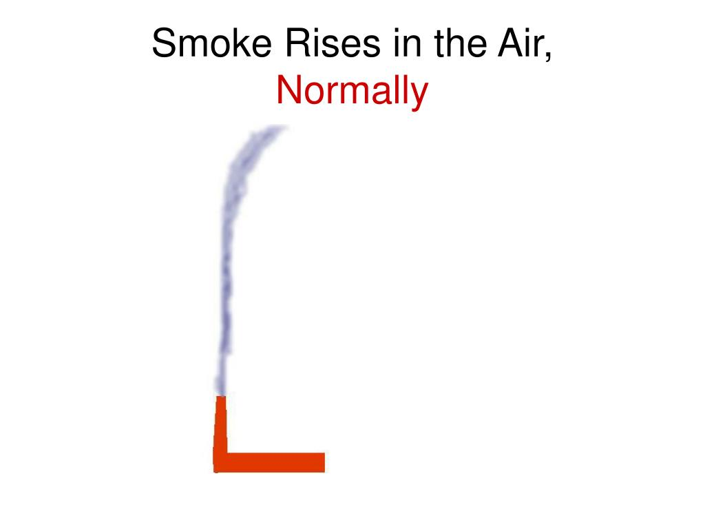 Smoke Rises in the Air,
