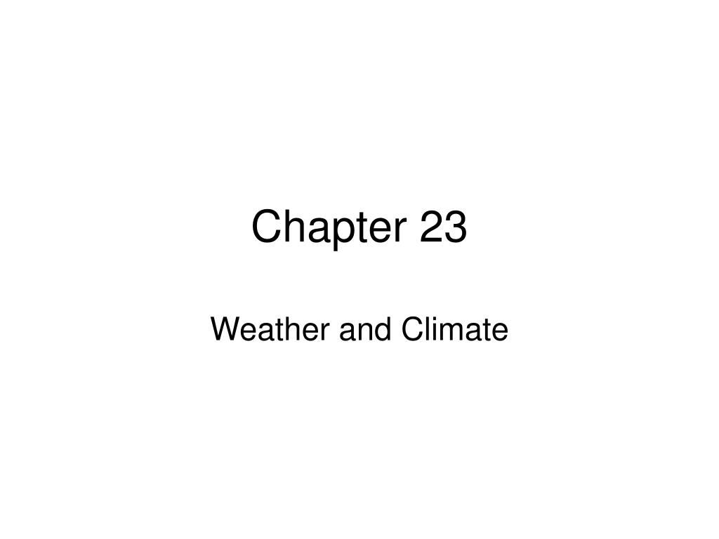 chapter 23 l.