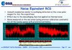 noise equivalent rcs
