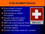 if an incident occurs